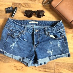 Distressed Jean Shorts ✨